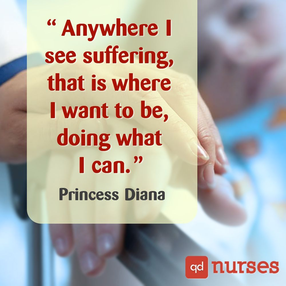 I see suffering, that is where I want to be, doing what I can.