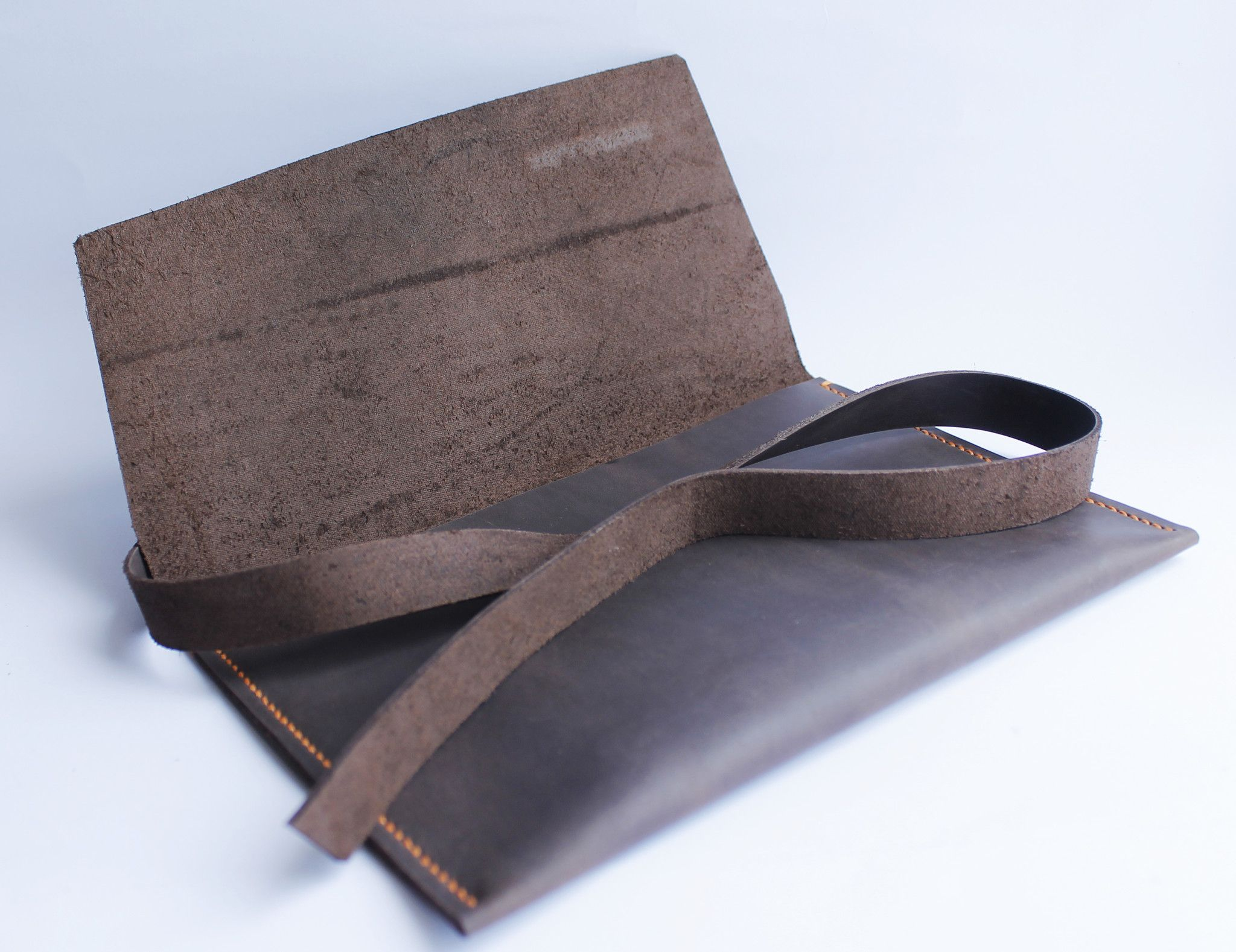 stylish and made of natural leather leather clutch  leather purse  leather clutch purse  three snails  clutch purse  mens clutch clutch wallet Natural Spanish leather clutch bag Three Snails