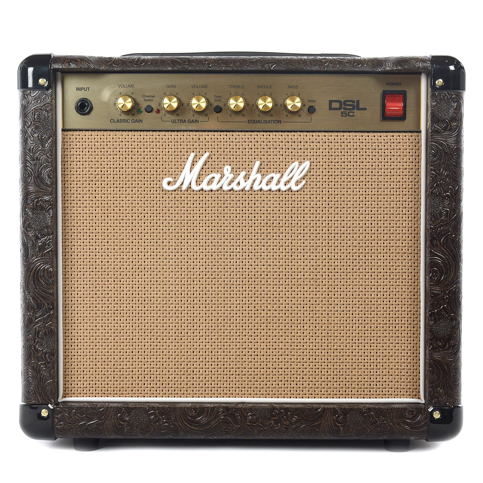 Marshall DSL5CCW 5W All-Tube 1x10 Western Combo | Amplified ...