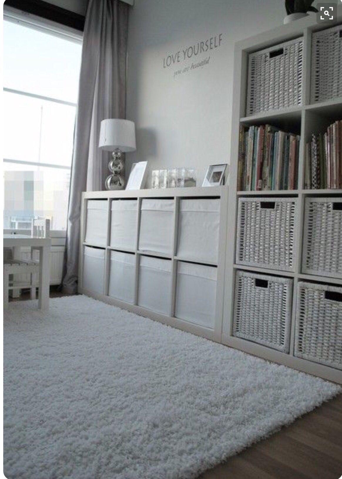 glamorous neeny wishlist ikea bedroom inspiration | My office wish list in 2019 | Ikea kallax shelf, Simple ...