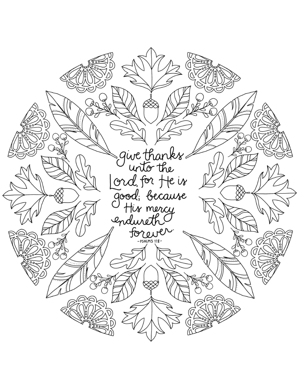 Just What I Squeeze In Give Thanks Unto The Lord Free Thanksgiving Color Thanksgiving Coloring Pages Free Thanksgiving Coloring Pages Bible Coloring Pages