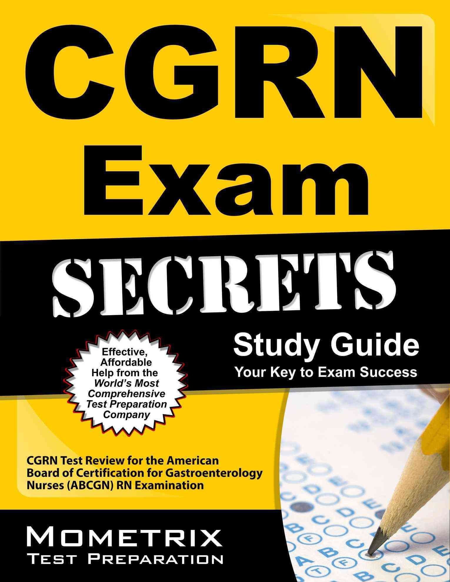 Cgrn Exam Secrets Cgrn Test Review For The American Board Of