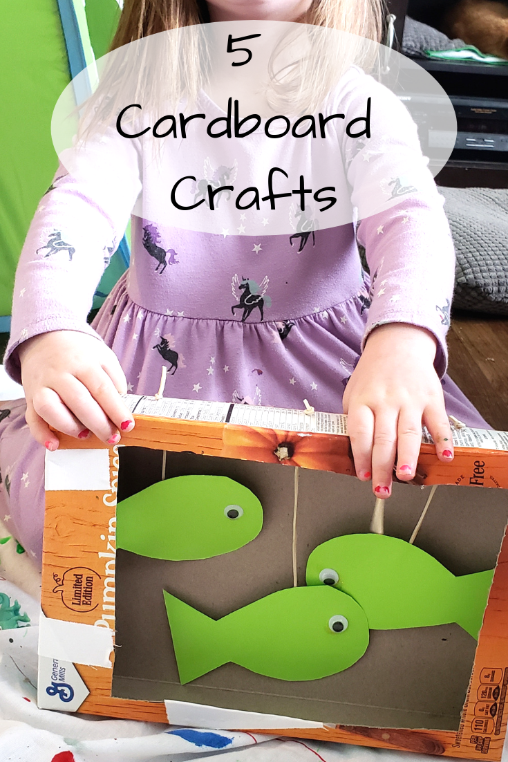 41+ Cardboard box crafts for adults ideas