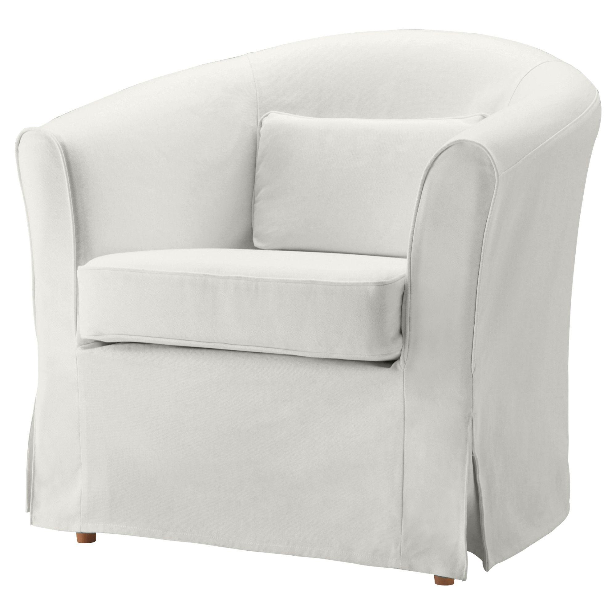 EKTORP TULLSTA Chair natural Blekinge white IKEA $129