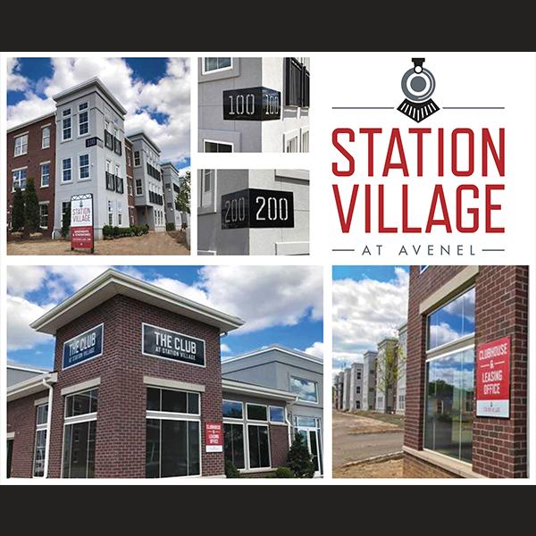 Signage For Station Village At Avenel Nj Forrent Com Apartments For Rent Avenel