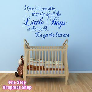 shop best little boy wall art quote sticker baby kids bedroom mouse nursery girl playroom decor  sc 1 st  Pinterest & shop best little boy wall art quote sticker baby kids bedroom mouse ...