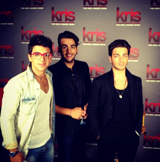 "Il Volo at ""The Kris Jenner Show""."