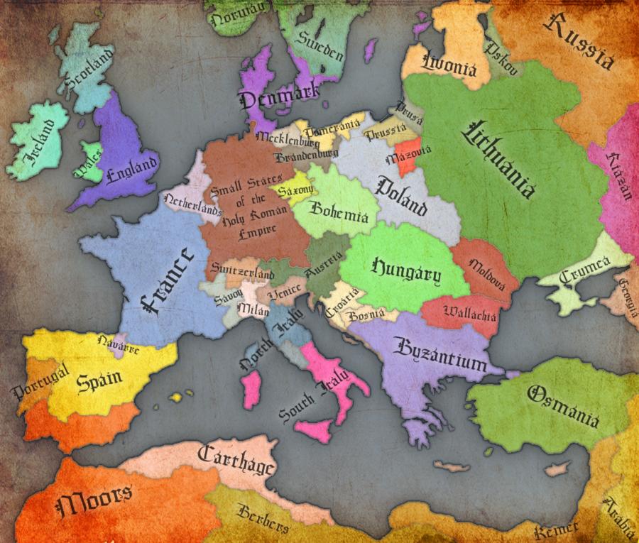 Renaissance Europe  1500by GTDOrion Digital Art  Other