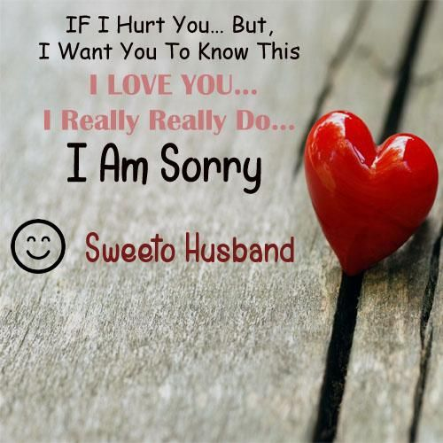 write bf or gf name i am really sorry greeting card heart