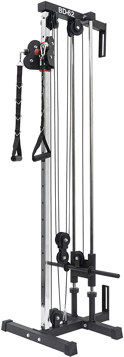 Amazon Com Valor Fitness Bd 62 Wall Mount Cable Station Sports Outdoors At Home Gym No Equipment Workout Gym