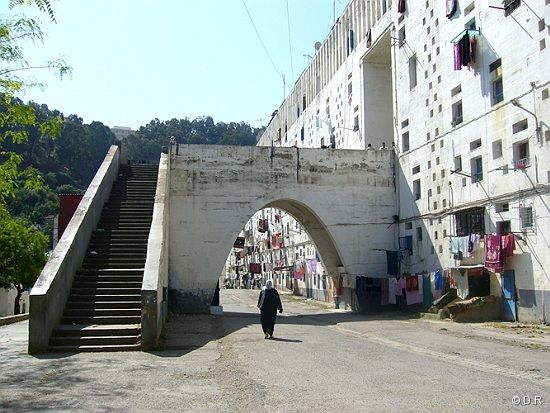 The Production Of French Architect Fernand Pouillon In Algiers Is