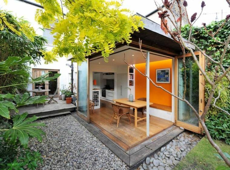 Les 25 meilleures id es de la cat gorie veranda en bois - La tonnelle nantes ...