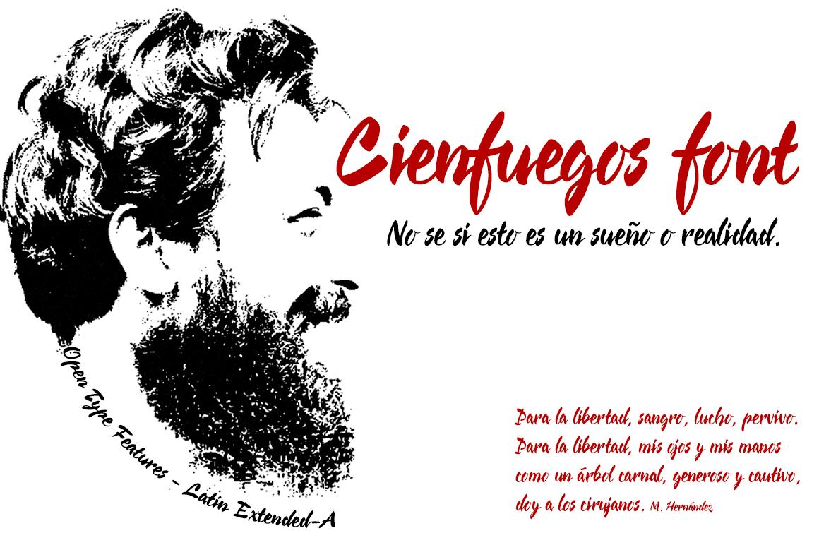 Cienfuegos Font · 1001 Fonts