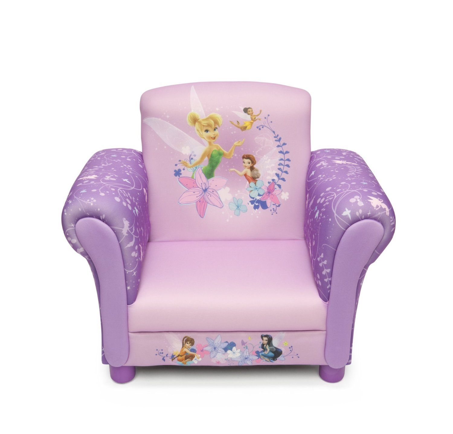 Best Disney Fairies Upholstered Chair Amazon Co Uk Baby My Prayple Purple Upholstered Chairs 400 x 300