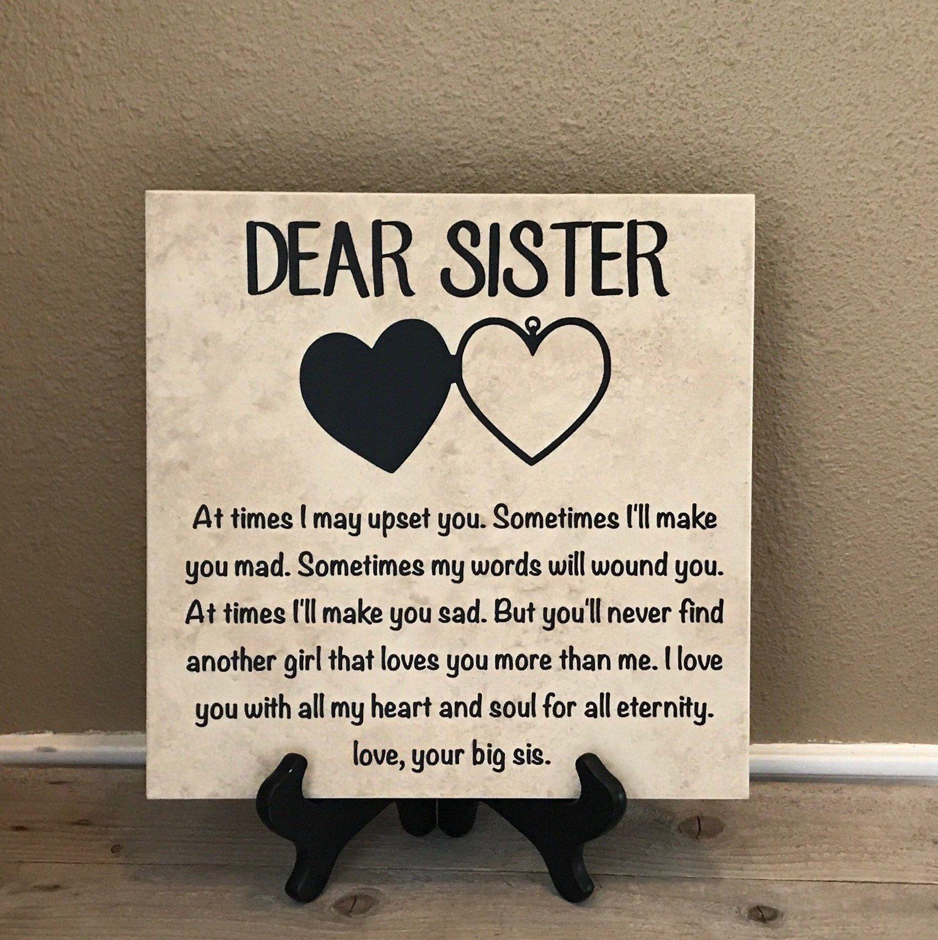 Gift For Sister Birthday Gift For Sister Christmas Gift For Etsy Christmas Gifts For Sister Unique Gifts For Sister Birthday Gifts For Sister