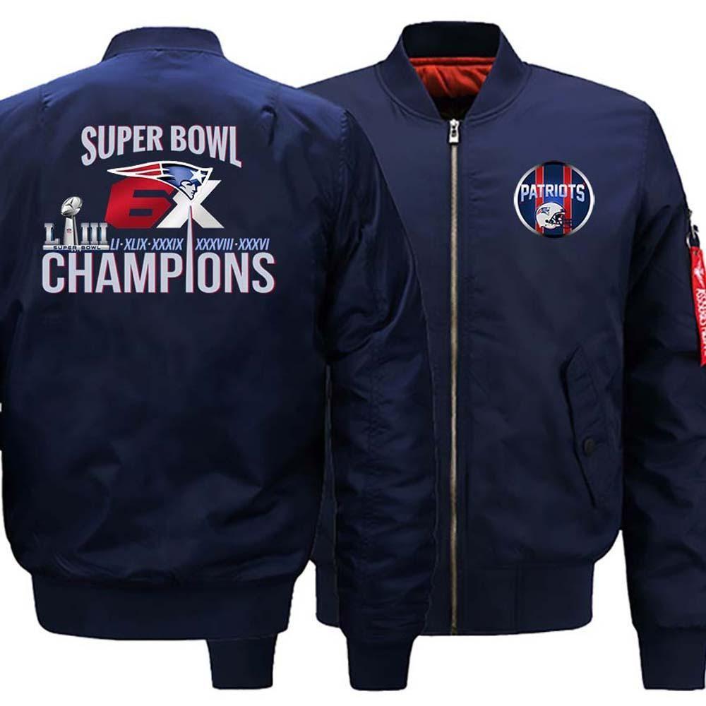 New England Patriots Ma 1 Bomber Jacket 6x Super Bowl Varsity Jackets 3 Colors New England Patriots Gear New England Patriots England Patriots