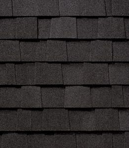 Asphalt Shingles Painted Brick Shingling Rustic Black