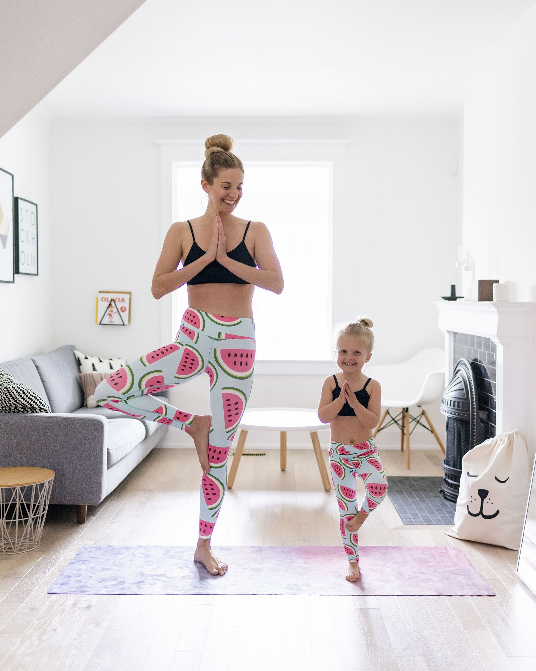 c92a8b4f621670 5 tips for staying active with young kids | Flexi Lexi mother daughter yoga  leggings