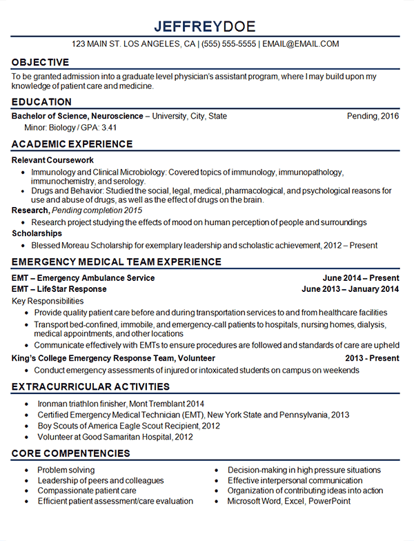 Resume Examples Medical Assistant 1 Resume Examples Resume