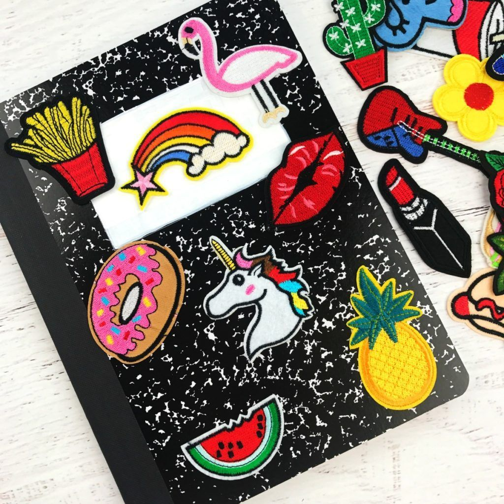 DIY Notebook Back to School Supplies #backtoschoolsupplies ...