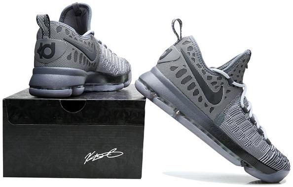 be1a2015187b Nike Zoom KD 9 Lmtd EP Mens Basketball shoes gray