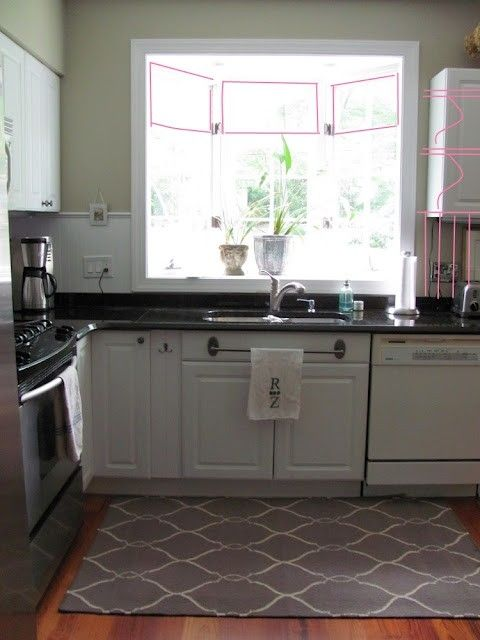 Kitchen Rug Placement Size