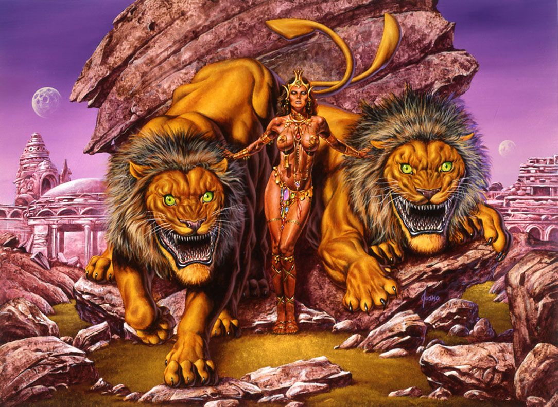 princess of mars frazetta - Google Search | Клипарт АРТ | Pinterest