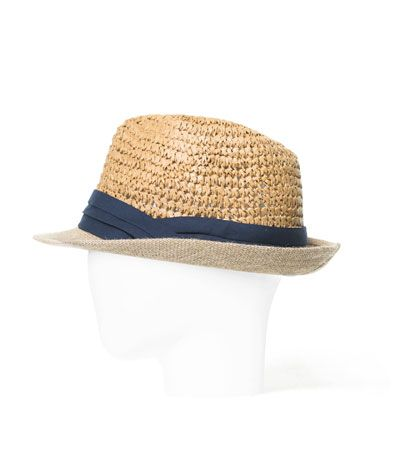STRAW HAT - Caps and Hats - Accessories - Man - ZARA United States ... 09868250cf1