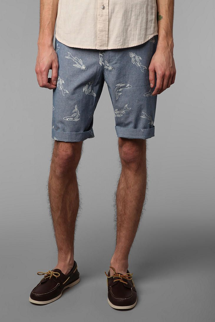 Perfect for a guy who goes to my gym: The Shark Tank: CPO Chambray ...
