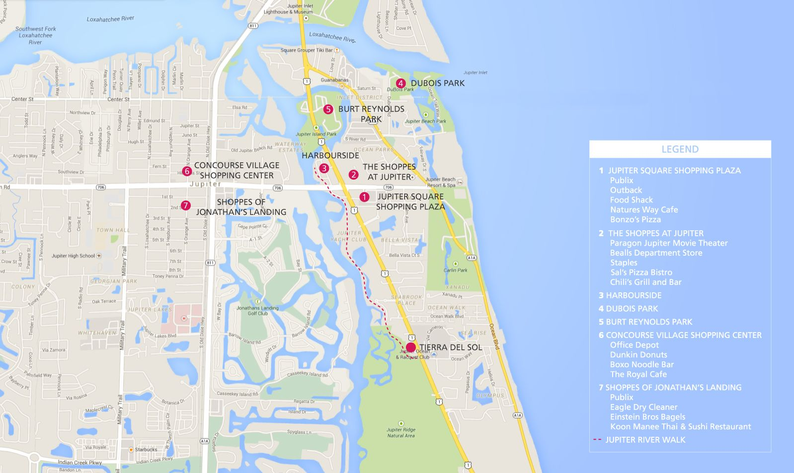 Map Of Florida Showing Jupiter.Jupiter Florida Map Tierra Del Sol Jupiter Homes For Sale
