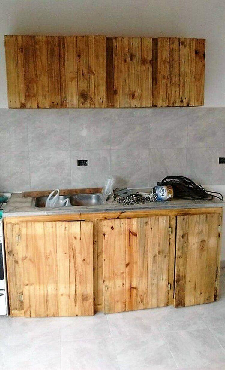 Pallet-Kitchen-Cabinet.jpg (750×1231) | cosas interesantes ...