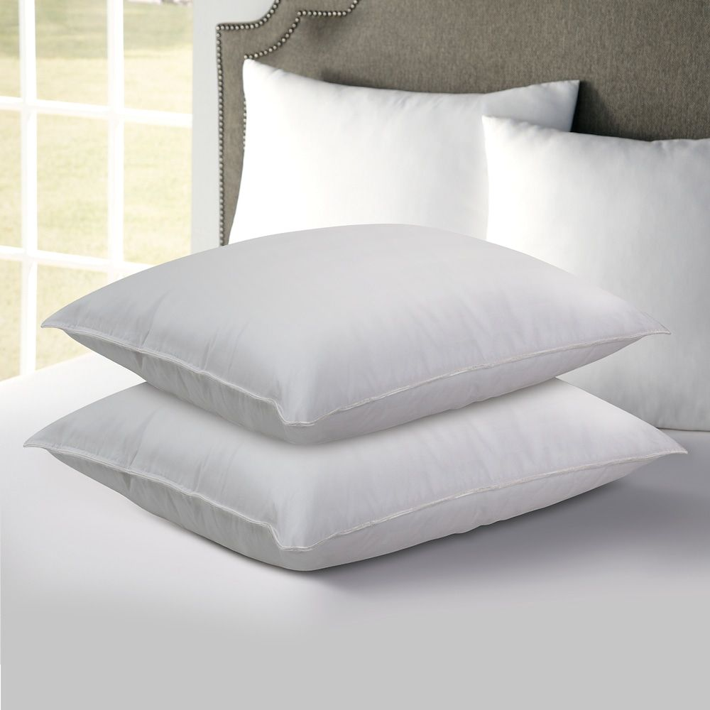 Hotel Laundry 2 Pack Down Alternative Pillows White Qn Pillow