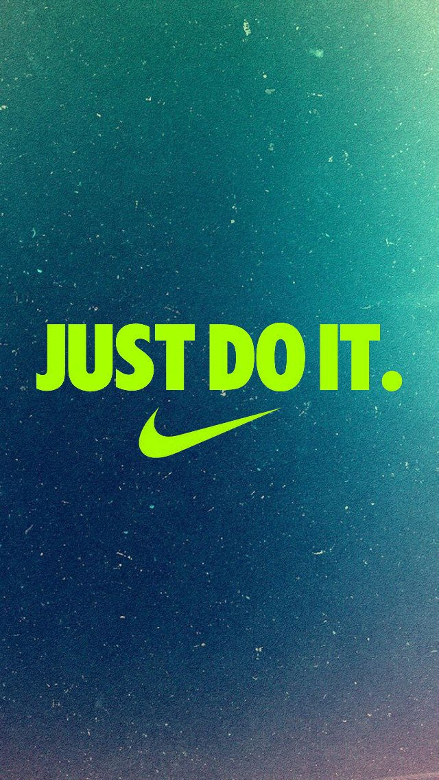 Just Do It iPhone5 Wallpaper (640x1136) | iPhone Backgrounds | Nike wallpaper, Nike wallpaper ...