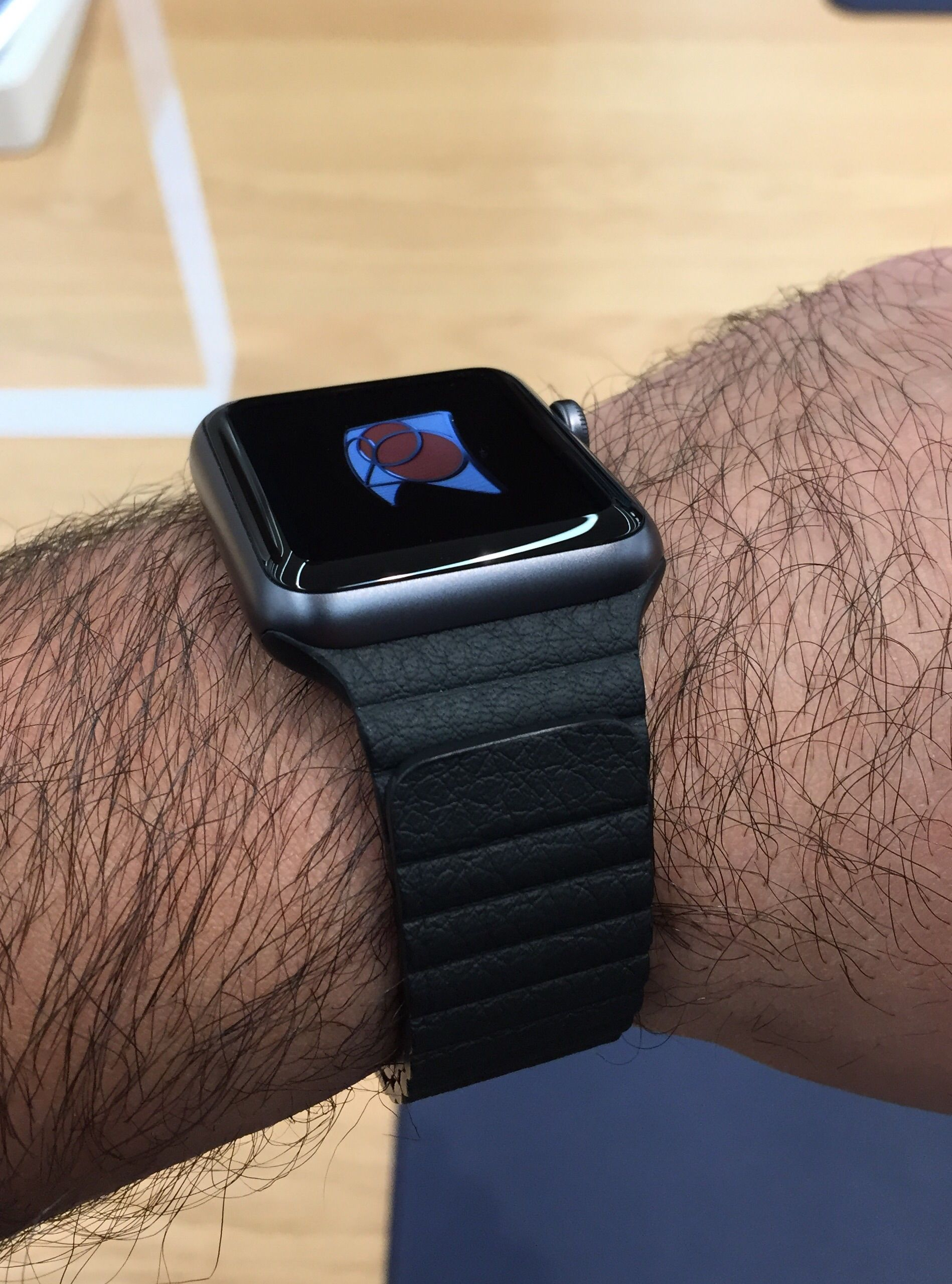 space milanese silver watches loop comments r aluminum the actually looks on grey applewatch quite decent