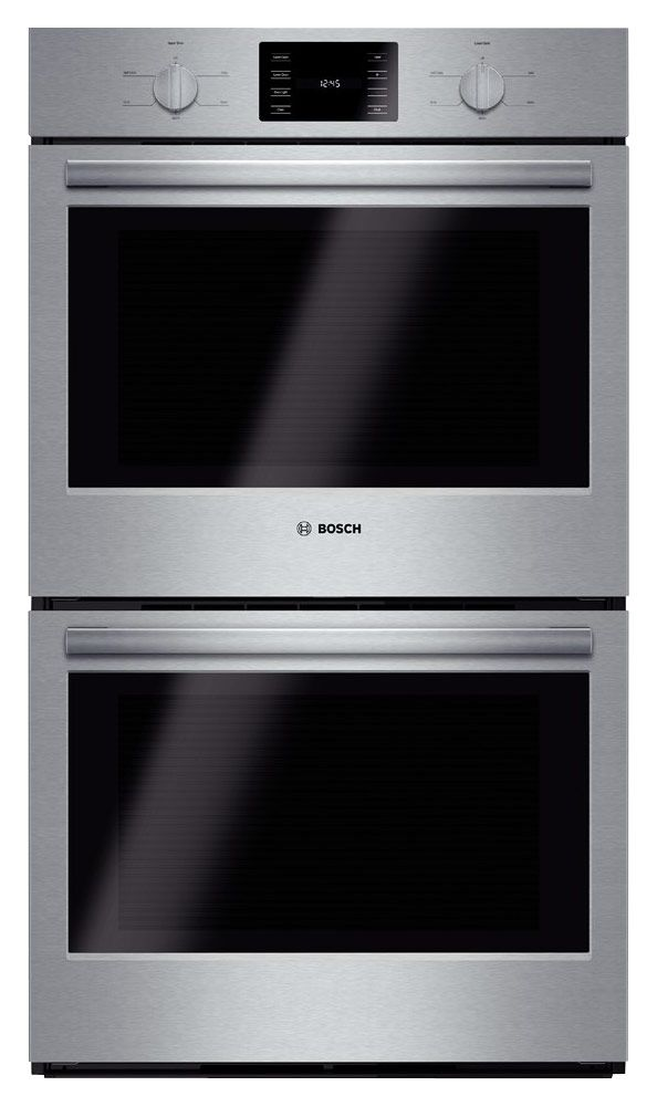 Bosch 500 Series 30 Built In Double Electric Wall Oven Stainless Steel Larger Front