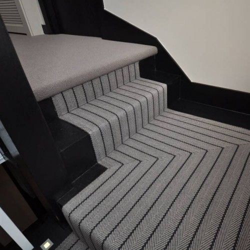 What Should I Do On My Landing Roger Oates Blog Stairs And Stripes In 2021 Stair Runner Carpet Striped Carpet Stairs Stair Runner