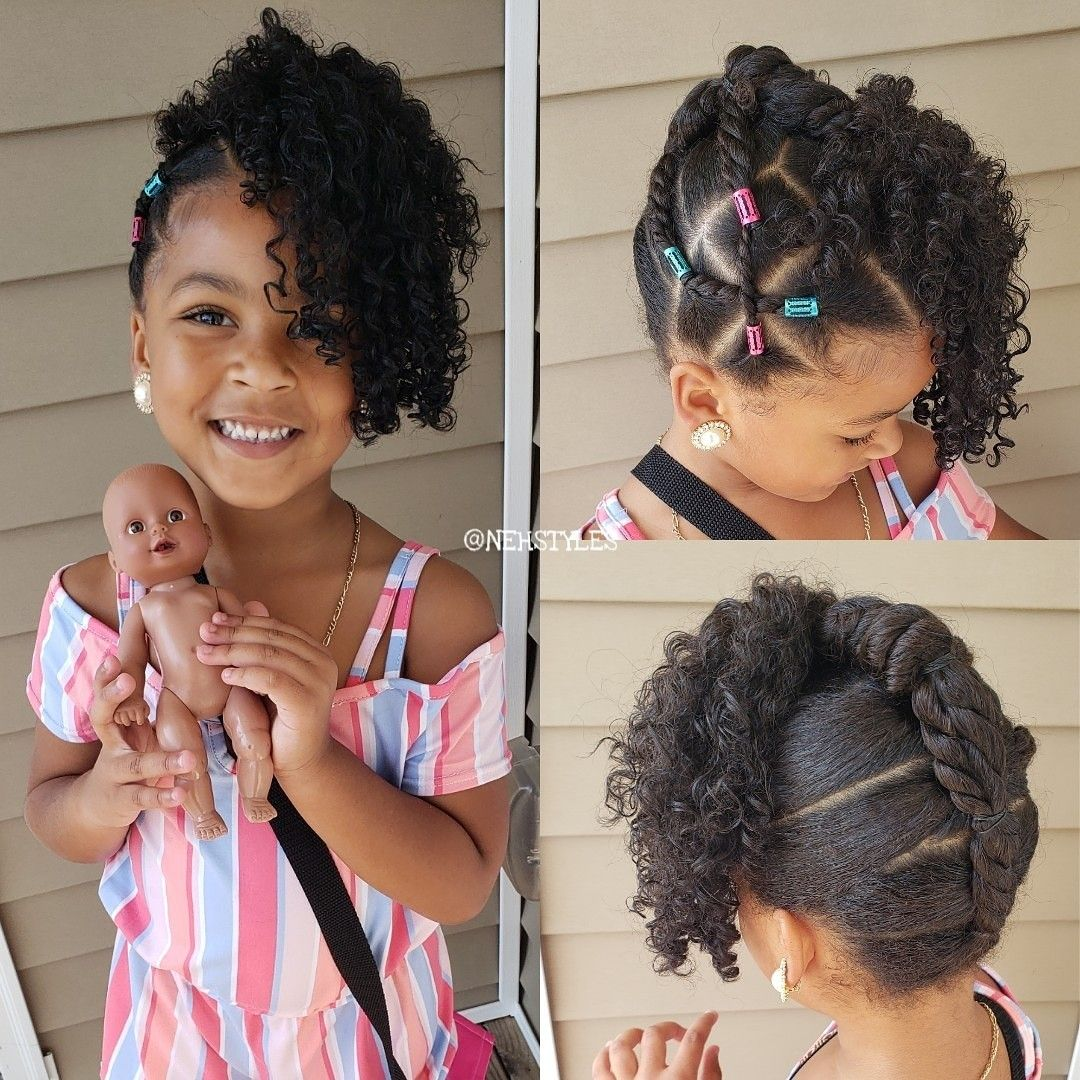 Protective Hairstyle For Natural Curly Hair In 2020 Hair Styles
