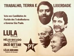 Resultado de imagem para fundação do partido dos trabalhadores 1980 foto