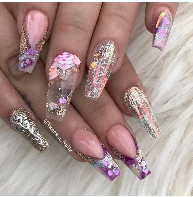 Pinterestkiania Nails Pinterest Nail Nail Coffin Nails And