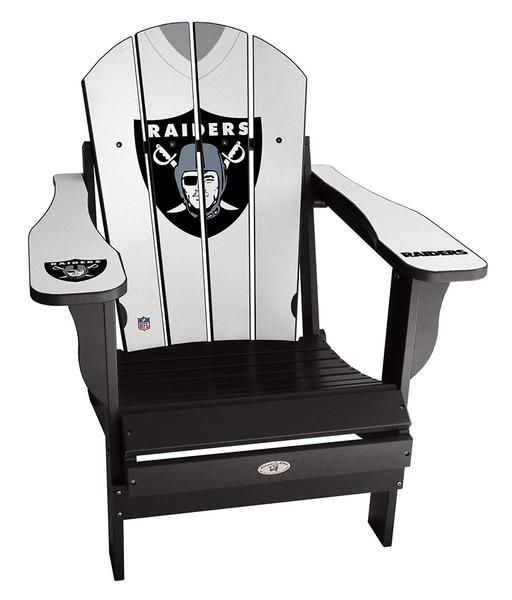Oakland Raiders Chair Diy Wood Chairs Jersey Nfl
