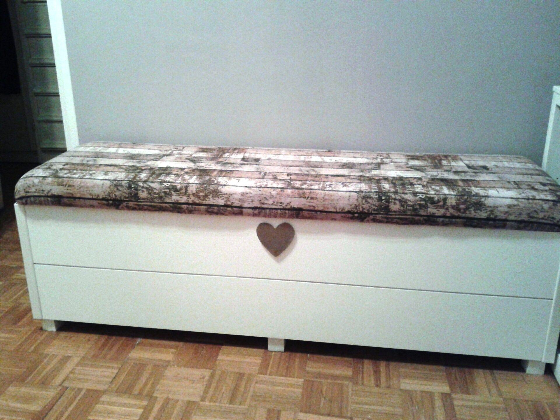 Cassapanca ikea trasformata decorazioni e creazioni - Cassapanca in legno ikea ...
