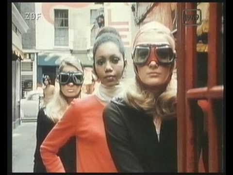 Vintage 60s video footage, Mary Quant fashion report from London Aktuell 1969. Duration: 1.51 min.