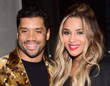 Ciara Writes Her Love for Russell Wilson in the Sky on One-Year Wedding Anniversary