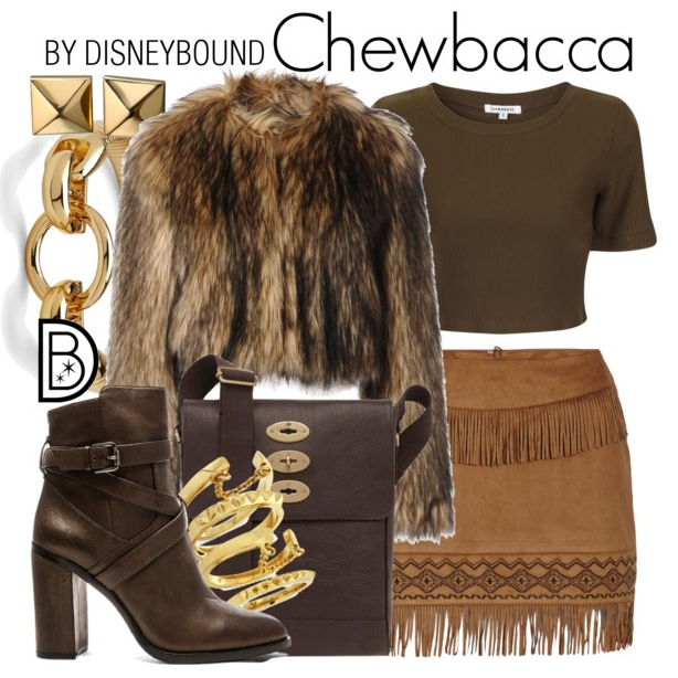 Such an on-trend fashionable Chewbacca! Love that jacket!