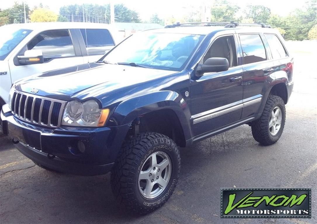 Lifted Jeep Grand Cherokee Venom Motorsports Grand Rapids Mi