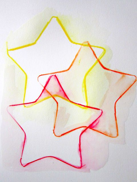 If Kids Project Watercolor Pencils A Cookie Cutter