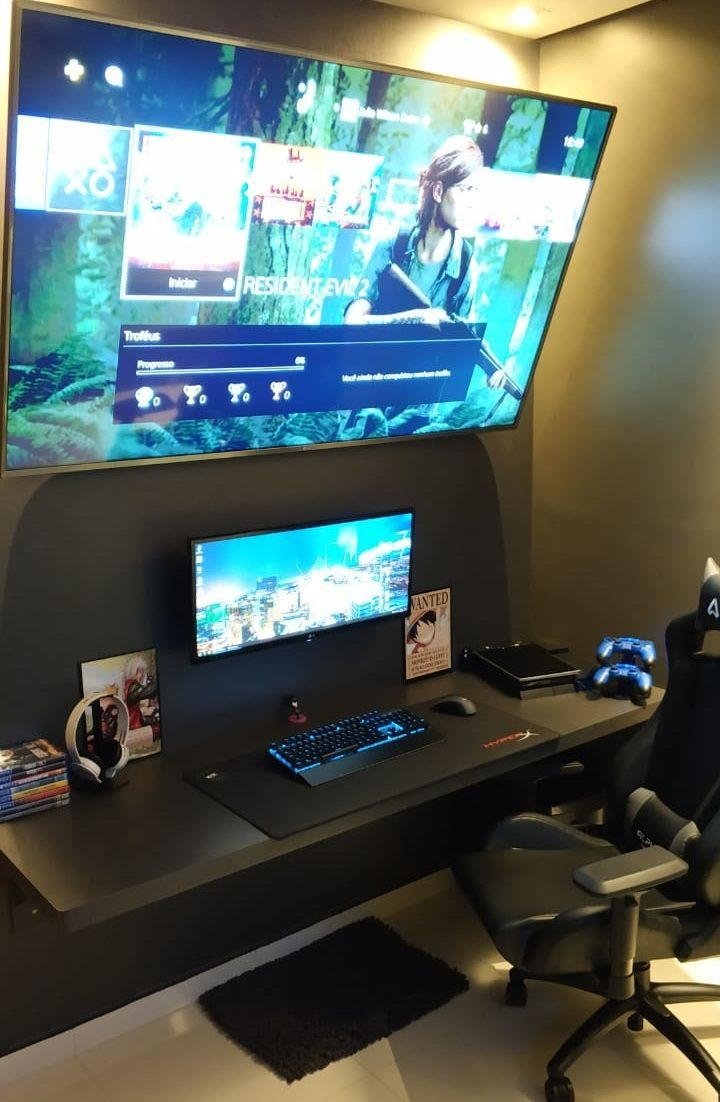 Perfect set up #gamerroom Perfect set up #gamingdesk