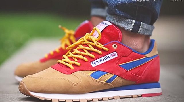 "0588a552996a Snipes x Reebok Classic Leather ""Camp Out"""