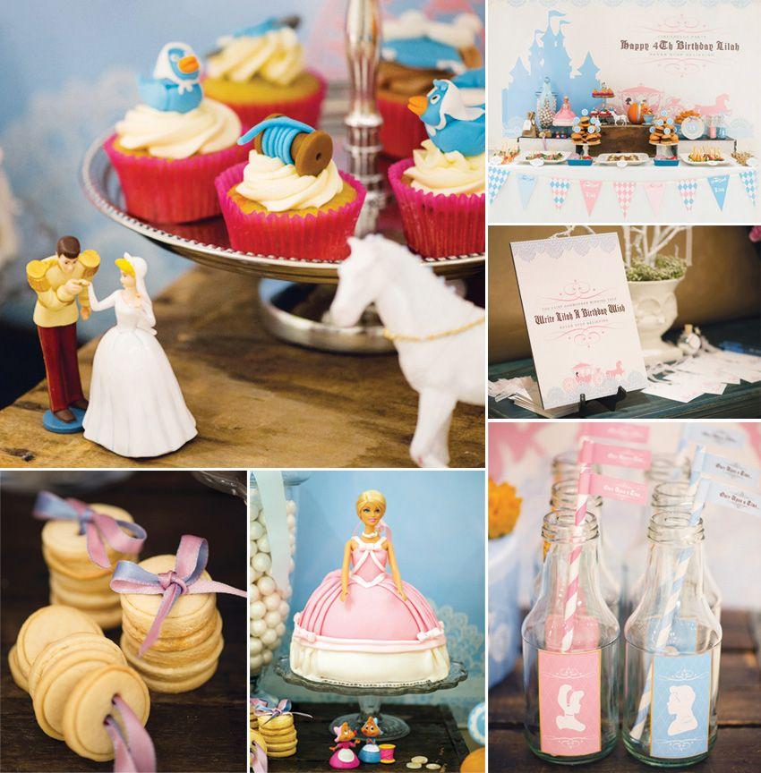 Darling Cinderella Birthday Party via hwtm