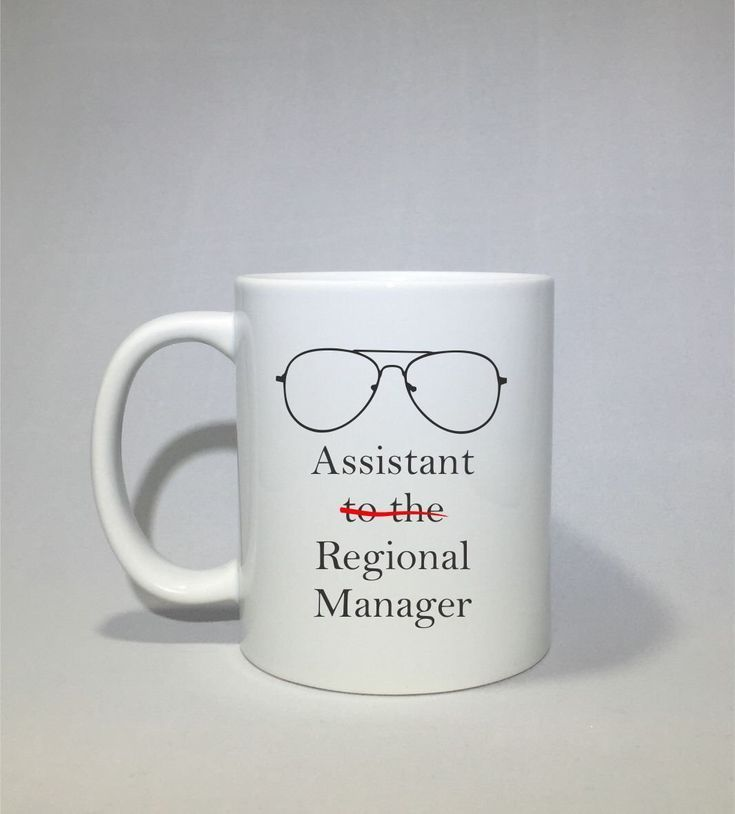 Assistant to the regional manager coffee mug dwight